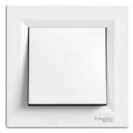 EPH0100121 Одноклавишный выключатель Asfora IP20. Цвет Белый