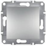 EPH0700161 Одноклавішний кнопковий вимикач Asfora 10А. Колір Алюміній