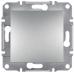 EPH0700161 Одноклавишный кнопочный выключатель Asfora 10А. Цвет Алюминий