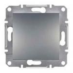 EPH0100262 Одноклавишный выключатель Asfora IP44. Цвет Сталь
