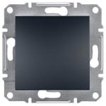 EPH0400171 Одноклавишный переключатель Asfora IP20. Цвет Антрацит