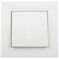 EPH0100223 Одноклавишный выключатель Asfora IP44. Цвет Кремовый