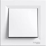 EPH0700121 Одноклавишный кнопочный выключатель Asfora 10 А. Цвет Белый