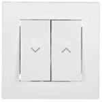 EPH1300121 Выключатель для жалюзи Asfora IP20. Цвет Белый