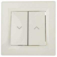EPH1300123 Выключатель для жалюзи Asfora IP20. Цвет Кремовый