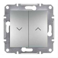 EPH1300161 Выключатель для жалюзи Asfora IP20. Цвет Алюминий