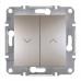 EPH1300169 Выключатель для жалюзи Asfora IP20. Цвет Бронза