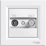 EPH3400121 Розетка TV-SAT концевая 1 dB Asfora. Цвет Белый
