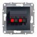 EPH5700171 Аудиорозетка Asfora. Цвет Антрацит