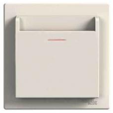 EPH6200123 Карточный выключатель Asfora IP20. Цвет Кремовый