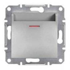 EPH6200161 Карточный выключатель Asfora IP20. Цвет Алюминий