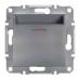 EPH6200162 Карточный выключатель Asfora IP20. Цвет Сталь