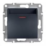 EPH6200171 Карточный выключатель Asfora IP20. Цвет Антрацит