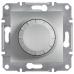 EPH6600161 Светорегулятор проходной 315 ВА Asfora. Цвет Алюминий