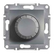 EPH6500162 Светорегулятор с подсветкой проходной 600 ВА Asfora. Цвет Сталь