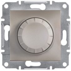 EPH6500169 Светорегулятор с подсветкой проходной 600 ВА Asfora. Цвет Бронза