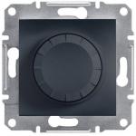 EPH6500171 Светорегулятор с подсветкой проходной 600 ВА Asfora. Цвет Антрацит