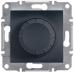 EPH6600171 Светорегулятор проходной 315 ВА Asfora. Цвет Антрацит