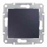 SDN0500170 Одноклавишный перекрестный переключатель 10 A серии Sedna. Цвет Графит