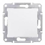 SDN0700121 Кнопочный выключатель 10A серии Sedna. Цвет Белый