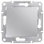 SDN0700160 Кнопочный выключатель 10A серии Sedna. Цвет Алюминий