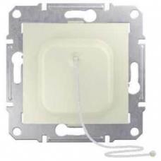 Выключатель для жалюзи с электрич. блокировкой 10A серии Sedna. Цвет Слоновая кость (SDN1300123)