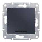 SDN1600170 Кнопка с подсветкой Sedna. Цвет Графит
