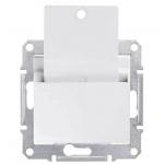 SDN1900121 Карточный выключатель 10A серии Sedna. Цвет Белый