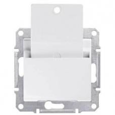 Карточный выключатель 10A серии Sedna. Цвет Белый (SDN1900121)
