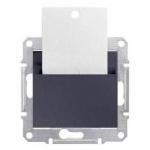 SDN1900170 Карточный выключатель 10A серии Sedna. Цвет Графит