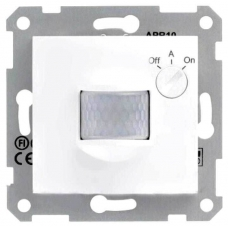 Датчик движения 10А серии Sedna. Цвет Белый (SDN2000221)