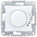 SDN2200521 Светорегулятор поворотно-нажимной проходной 60-500 Вт/ВА серии Sedna. Цвет Белый