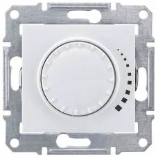 Светорегулятор поворотно-нажимной проходной 60-500 Вт/ВА серии Sedna Цвет Слоновая кость (SDN2200523)