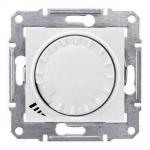 SDN2200923 Светорегулятор поворотно-нажимной индуктивный 1000 ВА серии Sedna Цвет Слоновая кость
