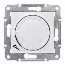 Светорегулятор поворотно-нажимной индуктивный 1000 ВА серии Sedna Цвет Слоновая кость (SDN2200923)