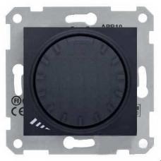 Светорегулятор поворотно-нажимной индуктивный 1000 ВА серии Sedna. Цвет Графит (SDN2200970)