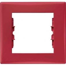 Декоративная рамка 1-постовая Sedna. Цвет Красный (SDN5800141)