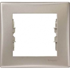 Декоративная рамка 1-постовая Sedna. Цвет Титан (SDN5800168)