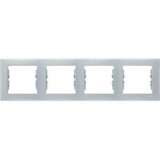 Декоративная рамка 4-постовая горизонтальная Sedna. Цвет Серый (SDN5800733)