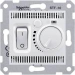 SDN6000323 Термостат для теплого пола 10А серии Sedna. Цвет Слоновая кость
