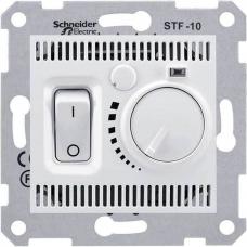 Термостат для теплого пола 10А серии Sedna. Цвет Слоновая кость (SDN6000323)