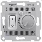 SDN6000360 Термостат для теплого пола 10А серии Sedna. Цвет Алюминий