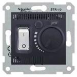 SDN6000370 Термостат для теплого пола 10А серии Sedna. Цвет Графит