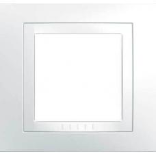 MGU2.002.18 Рамка одноместная белая Unica Basic